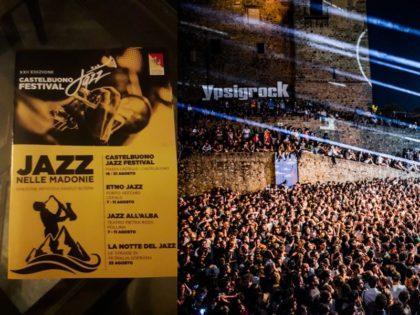 Indie rock and jazz festivals